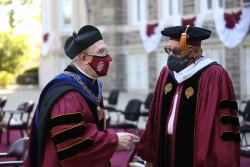 Gabelli School of Business Graduation Rose Hill Students.May 18, 2021Photo by Bruce Gilbert
