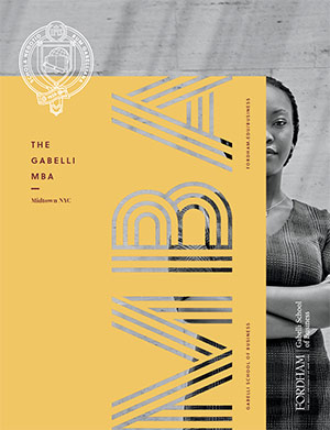 Gabelli School of Business MBA Brochure