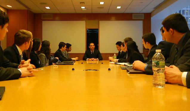 Three Gabelli alumni enlighten sophomores on finance jobs » Gabelli