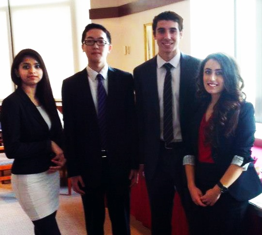 Bauer Accounting Students Win Regionals at KPMG Sponsored Case     Consulting Club