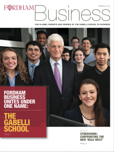 FordhamBusiness spring 2015 cover