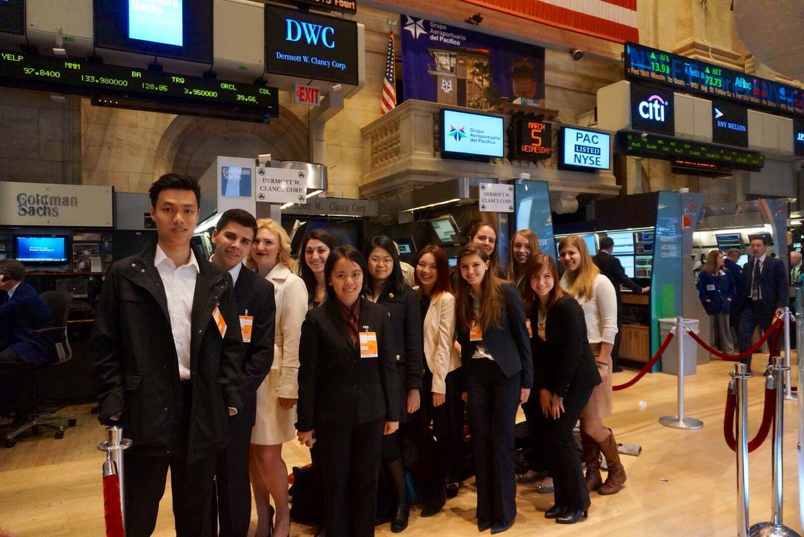 Sws Members Tour Nyse Trading Floor 187 Gabelli Connect
