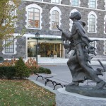 """Fordham University is a """"feeder school"""" for Morgan Stanley, according to a recent survey."""