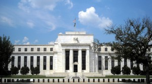 The Federal Reserve headquarters in Washington, D.C. Decisions made there will have a ripple effect in the world economy, said Michael Guarnieri, a Fordham graduate and global head of flow credit at Nomura, a Japanese bank.