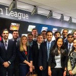Members of the Business of Sports Society at Fordham visit Major League Baseball headquarters in New York.