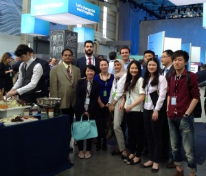 Students and faculty in the MS in Business Analytics program gathered at the World of Watson conference.