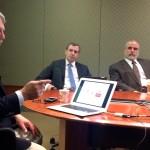Frank Sirianni, vice president and CIO of Fordham University, speaks to Fordham's CIO Roundtable.