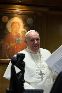 A Sept. 17 panel will discuss Pope Francis' views on the environment. (Photo courtesy of the Vatican)