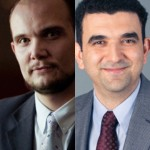 From left, Associate Professor Sertan Kabadayi and Assistant Professor Mohammad Nejad combined on research into introductory pricing by financial services companies.